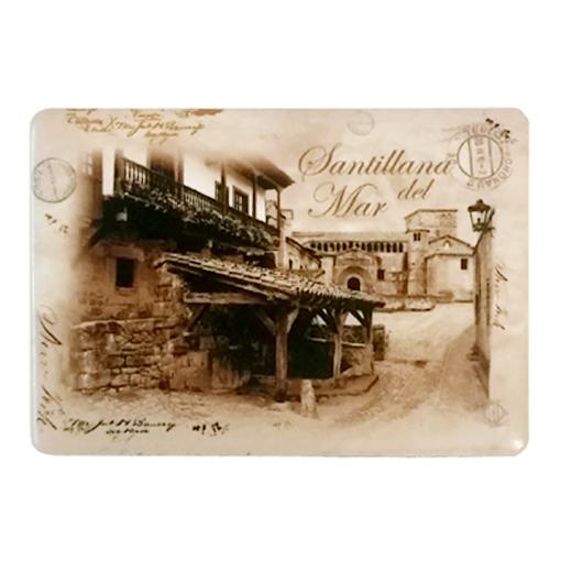 Ref im 154 im n met lico postal vintage lavadero de for Lavadero metalico