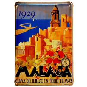 Cartel Malaga 1929