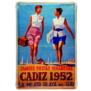 cartel cadiz 1952