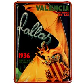 Valencia fallas 1936