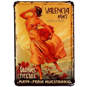 Valencia grandes Fiestas 1917